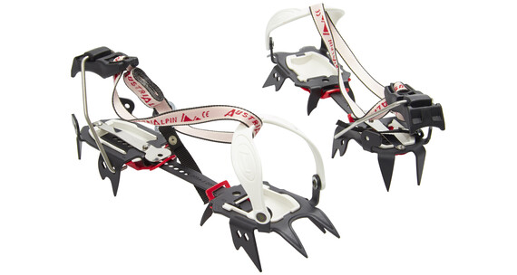 AustriAlpin SkyWalk Crampons & Spikes kombi rød/sort
